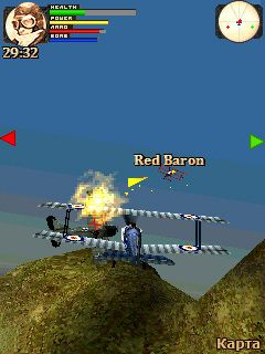 Download free mobile game: 3D Dogfight 1916 - download free games for mobile phone.