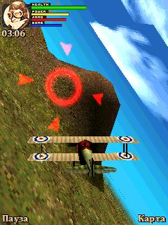 Mobile game 3D Dogfight 1916 - screenshots. Gameplay 3D Dogfight 1916.