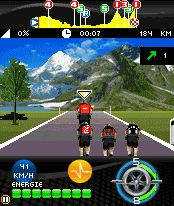 Download free game for mobile phone: Le Tour de France 2010 - download mobile games for free.