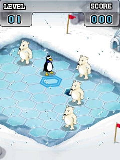 Download free game for mobile phone: Plop! the polar puzzle - download mobile games for free.