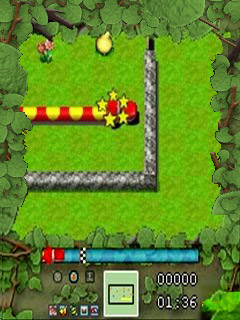 Mobile game Snake 3 3D - screenshots. Gameplay Snake 3 3D.