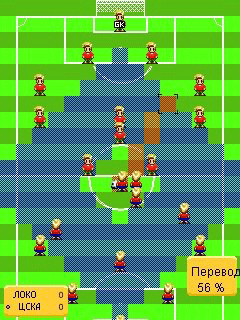 Download free game for mobile phone: Tactics Soccer - download mobile games for free.
