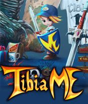Download free TibiaMe - java game for mobile phone. Download TibiaMe