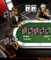 Jeu mobile Le Tournoi Mondial de Poker 2: Hold'em de Texas - captures d'écran. Gameplay World Poker Tour Texas Hold 'Em 2.