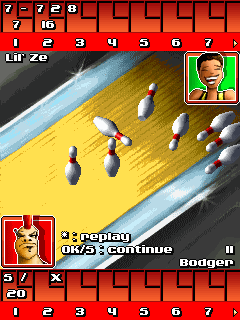 Mobile game Bowling Superstars - screenshots. Gameplay Bowling Superstars.