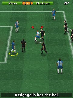Download free mobile game: Play Football 2011 - download free games for mobile phone.