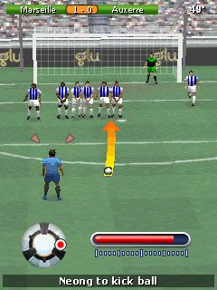 Download free game for mobile phone: Play Football 2011 - download mobile games for free.