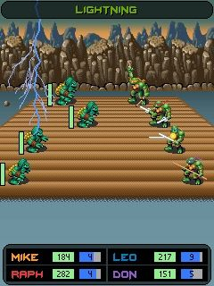Download free game for mobile phone: TMNT: Ninja Tribunal - download mobile games for free.