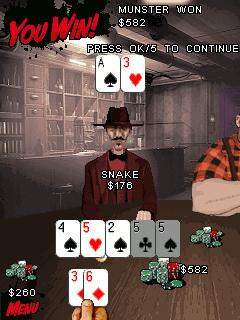 Download free game for mobile phone: PokerMillion: Dead Money - download mobile games for free.