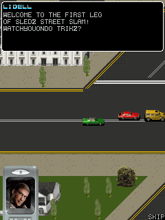 Jeu mobile L.A. Course - captures d'écran. Gameplay L.A. Rush.