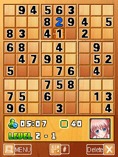 Download free mobile game: Hot School Girls Sudoku - download free games for mobile phone.