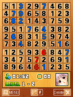 Download free game for mobile phone: Hot School Girls Sudoku - download mobile games for free.