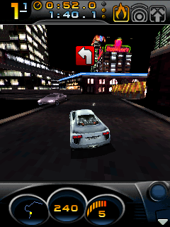 Need for Speed: Carbon 3D手机游戏- 截图。Need for Speed: Carbon 3D游戏。