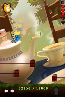 Download free mobile game: Alice In Bomberland - download free games for mobile phone.