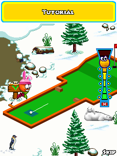 Download free game for mobile phone: Putt Putt Golf - download mobile games for free.