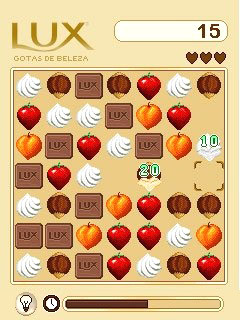 Скриншот java игры Lux: Drops of Beauty. Игровой процесс.