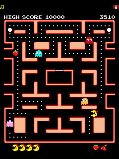 Download free mobile game: Ms. PAC MAN - download free games for mobile phone.
