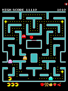 Jeu mobile Madame Pac Man - captures d'écran. Gameplay Ms. PAC MAN.
