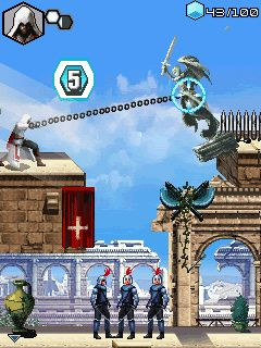 Download free mobile game: Assassin's Creed: Brotherhood - download free games for mobile phone.