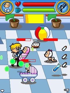 Download free game for mobile phone: Raving Babies - download mobile games for free.