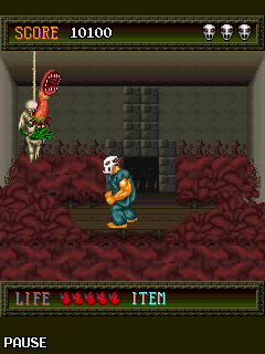 Download free game for mobile phone: SplatterHouse - download mobile games for free.