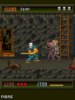 Mobile game SplatterHouse - screenshots. Gameplay SplatterHouse.