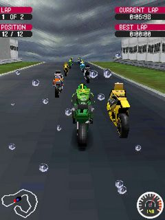Download free game for mobile phone: Moto GP 07 3D - download mobile games for free.
