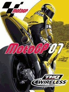 Mobile game Moto GP 07 3D - screenshots. Gameplay Moto GP 07 3D.