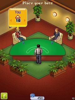 Jeu mobile Le Café: Black Jack - captures d'écran. Gameplay Dchoc Cafe Blackjack.