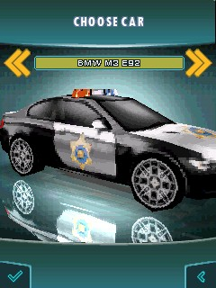 Download free mobile game: Need for Speed Hot Pursuit 3D - download free games for mobile phone.