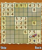 Download free game for mobile phone: DChoc Cafe: Sudoku - download mobile games for free.