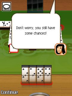 Download free game for mobile phone: DChoc Cafe: Dominoes - download mobile games for free.