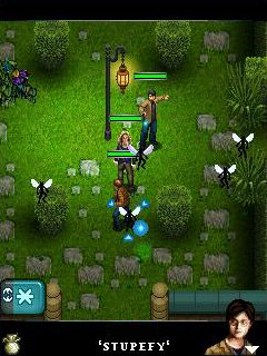 Mobil-Spiel Harry Potter und die Heiligtümer des Todes Teil 1 - Screenshots. Spielszene Harry Potter and the Deathly Hallows Part 1.