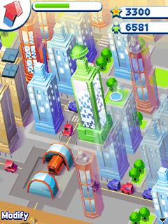 Download free game for mobile phone: Tower bloxx: My city - download mobile games for free.