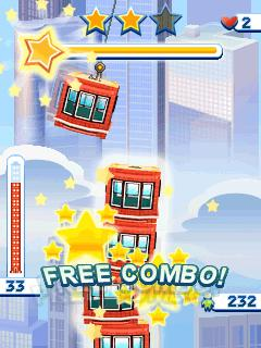 Скриншот java игры Tower bloxx: My city. Игровой процесс.