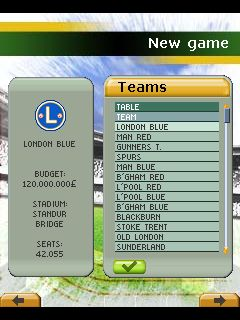 Download free game for mobile phone: Play Football Manager 2011 - download mobile games for free.