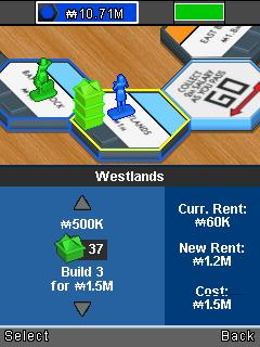 Mobile game Monopoly U-Build - screenshots. Gameplay Monopoly U-Build.