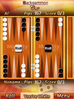 Download free game for mobile phone: Backgammon Cup - download mobile games for free.