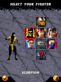 Download free mobile game: Ultimate Mortal Kombat 3 - download free games for mobile phone.
