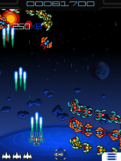 Download free game for mobile phone: Galaga X - download mobile games for free.