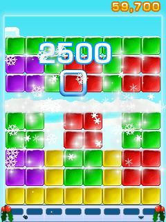 Mobile game Collapse Holiday Edition - screenshots. Gameplay Collapse Holiday Edition.