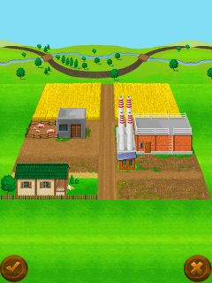 Mobile game My Little Farm - screenshots. Gameplay My Little Farm.