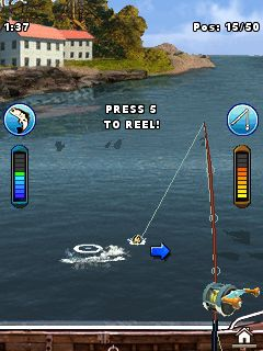 The description of Ultimate Fishing Mania: Hook Fish Catching Games