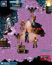 Mobil-Spiel Zombies Infektion 2 - Screenshots. Spielszene Zombie Infection 2.