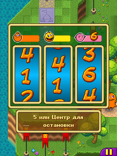 Скриншот java игры Pac-Man Party. Игровой процесс.