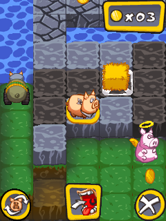 Скриншот java игры Aporkalypse Pigs of Doom. Игровой процесс.