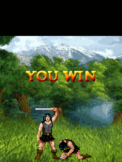 Mobile game Barbarian - screenshots. Gameplay Barbarian.