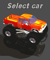 Download free mobile game: Bigfoot Racing - download free games for mobile phone.