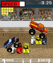 Download free game for mobile phone: Bigfoot Racing - download mobile games for free.
