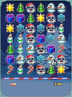 Mobile game Santas Puzzle Party - screenshots. Gameplay Santas Puzzle Party.